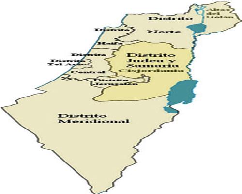 Distritos de Israel